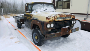 1959 Mercury 4x4 power wagon