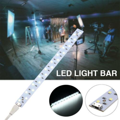 A625 20CM Weiß Wiederaufladbar Lampe Foto Dekoration LED-Licht Mini Usb Ansicht