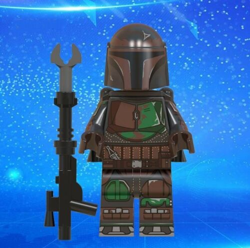 The Mandalorian Warrior Baby Yoda Universe Star Wars Custom Lego Mini Figure NEW