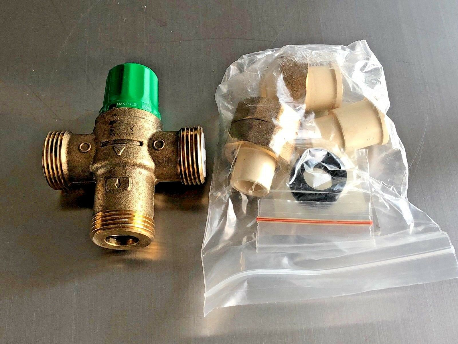 Taco 1 2 Cpvc Union 5002 Thermostatic Mixing Valve Lead Free For Sale Online