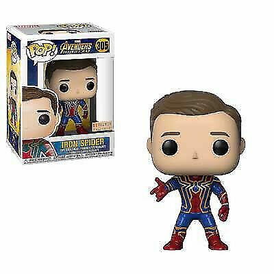 Funko Pop! Marvel Avengers Infinity War Iron Spider Unmasked