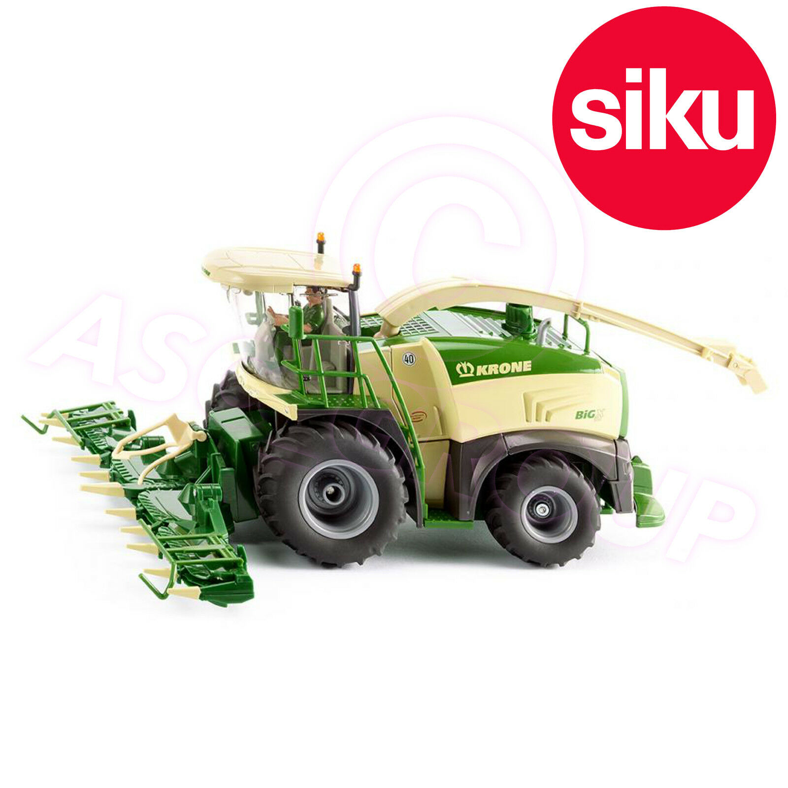 Siku 4066 Krone Big X 580 Forage Harvester Folding Cutter and Moving Tube 1 32