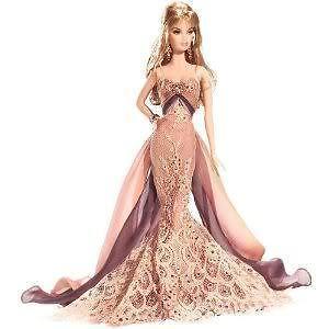 Christabelle Barbie oro Label w shipper Mib