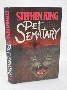 Stephen King PET SEMATARY Doubleday & Company 1983 Book Club Edition