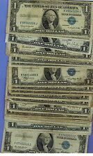1935 One Dollar Well Circulated Silver Certificate US PAPER Note - $1 Bill