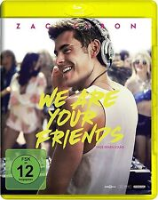 WE ARE YOUR FRIENDS (Zac Efron, Emily Ratajkowski) Blu-ray Disc NEU+OVP