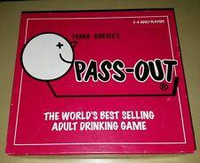 Caja pequeña versión pase fuera Pass-Out adulto después de la Cena Fiesta Beber Juego De Mesa