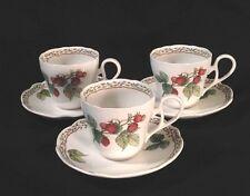 Noritake ROYAL ORCHARD Tea CUP & SAUCER SET Of 3