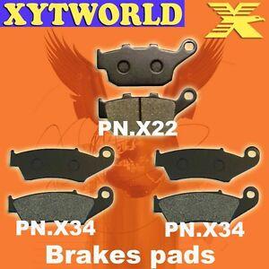 Front-Rear-Brake-Pads-Honda-XRV750-XRV-750-Africa-Twin
