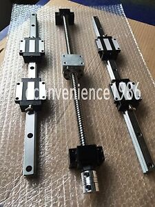HSR20CA-350-1800-2800mm-amp-RM2505-350-1800-2800mm-ballscrew-amp-BK-BF20-amp-couplers