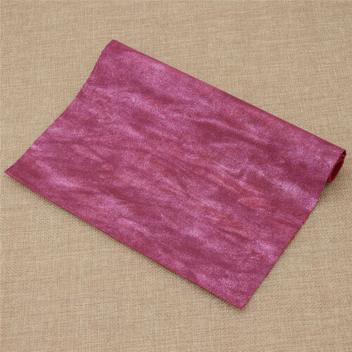 Tejido elástico multicolor Vintage Cuero Sintético Leathercraft Artesanías Costura