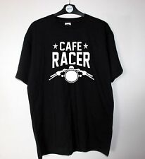 Biker T Shirt CAFE RACER MOTO Regalo Papà Retrò Brat Bike Classic Rocker