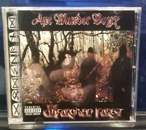 Axe-Murder-Boyz-Unforgiven-Forest-CD-1st-Press-rare-insane-clown-posse-twiztid