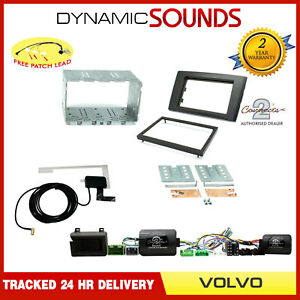 DAB RADIO Double Din Stereo / Parking Sensor Fitting Kit for Volvo XC90 2004-14