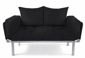 Sofa 2 Sitzer Mit Schlaffunktion Kleines Schlafsofa Ein 2er Couch Schlafsessel Ebay