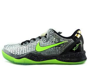 huge discount 5ae1c 69b04 Image is loading Nike-Kobe-8-System-Ss-Christmas-Black-Electric-