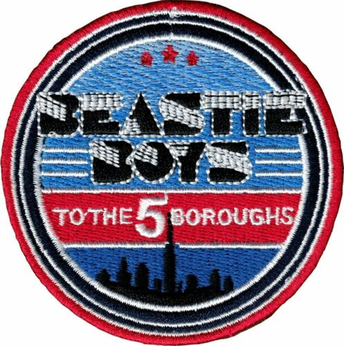 "Beastie Boys 5 Boroughs Iron On Patch 2 3//8/"" Licensed C/&D P-4430 Free Shipping"