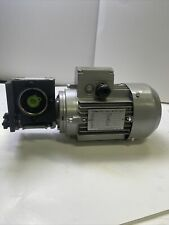 Nmrv030 Worm Gear Reducer With Three Phase Motor 220380 Rpm 1680 Duty S1