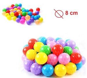 500 Palline Plastica Per Bambini In Pvc Colorate Per Piscina
