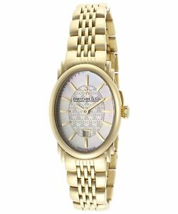 Dreyfuss-amp-Co-Women-039-s-Hand-Made-Quartz-Watch-Gold-Steel-Sapphire-DLB00046-02