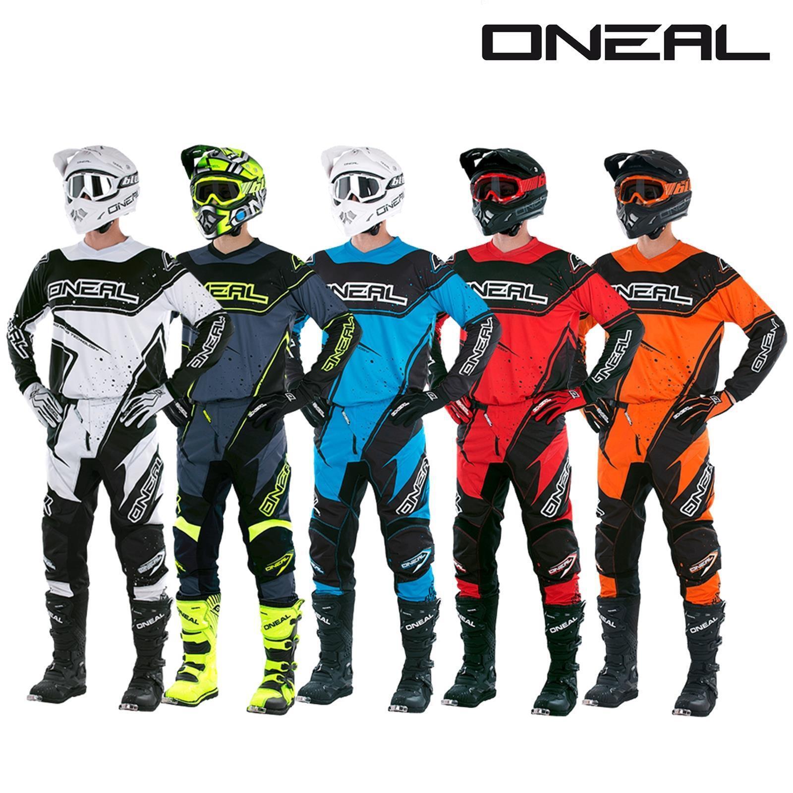 O'Neal EleSiet Racewear Combo Jersey Hose Motocross MX MTB DH Downhill Offroad