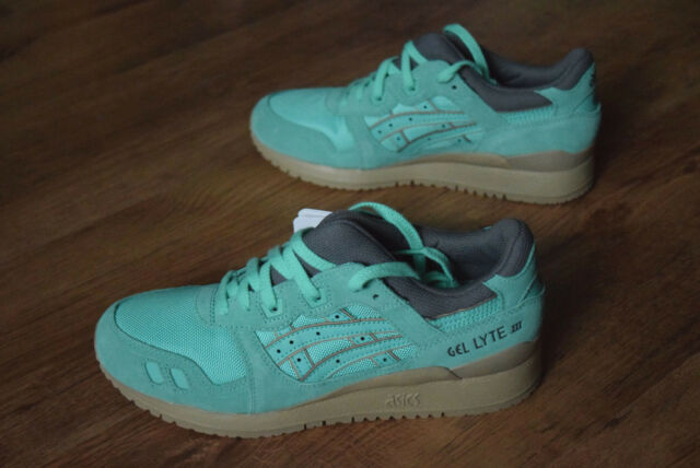 c7b04ae0409d ASICS Gel-lyte III Shoes Women s Sneaker Trainers Green H6w7n 4747 Sports  5.5 for sale online