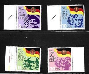 GERMANY-DDR-SC-2044-2047-MINT-NO-HINGE