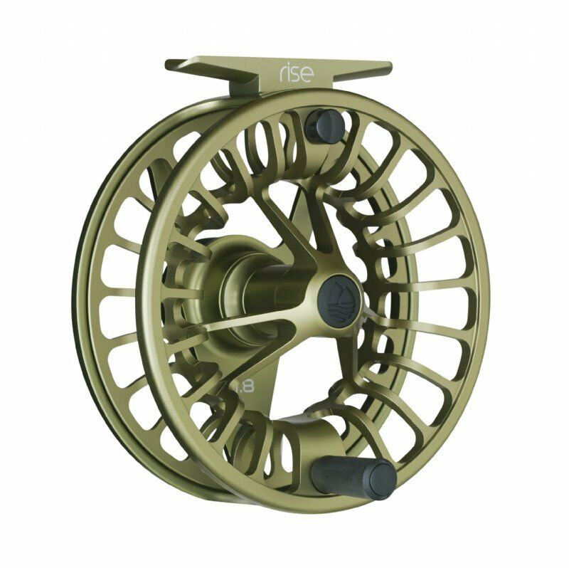 Redington Rise Fly Reels - Size 7 8 - color Olive - New