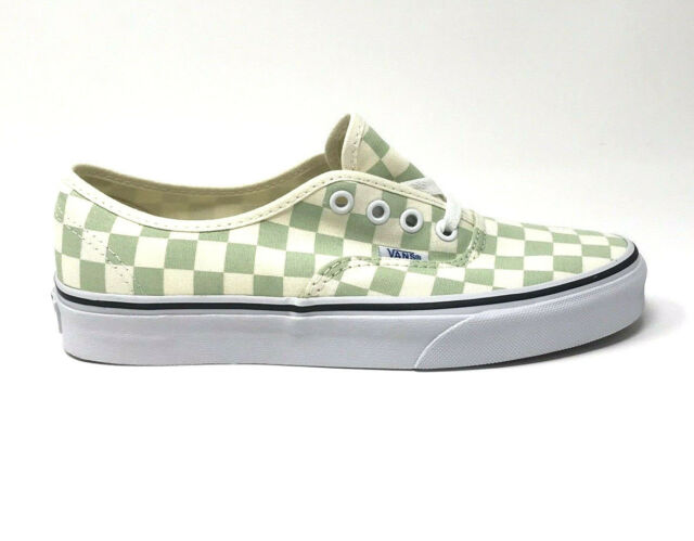 bf89ef96914ffa VANS Authentic Checkerboard Ambrosia Women s 7 Skate Shoes Green for ...
