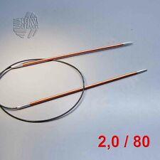 9,0mm Lana Grossa Rundstricknadel Rainbow 60cm