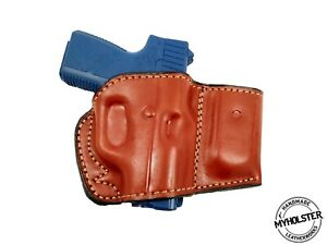 OWB-Belt-Leather-Holster-with-Magazine-Pouch-Fits-GLOCK-26