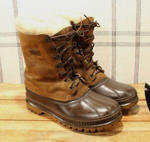 Details zu Sorel Steel Shank Boots Size 7 Winter Outdoor Mens Insulated
