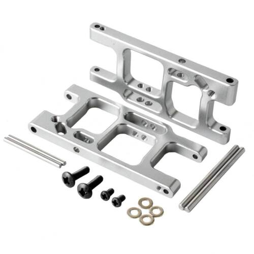 RC BE6015 Gray Alum Rear Lower Suspension Arm Fit LC Racing 1//14 Electric EMB