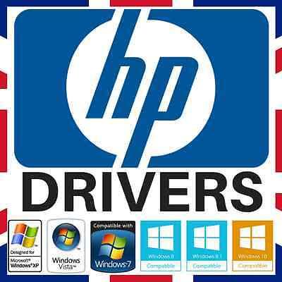 HP Windows PC & Laptop DRIVERS Virus Recovery/Restore/Repair/Fix XP/Vista/7/8/10