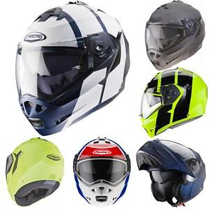 Caberg-Klapp-Helm-Duke-II-2-Motorrad-Belueftet-Sonnenblende-Pinlock-Visier-Jet