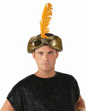 Gold Desert Prince Royal Crown Headpiece Costume Accessory