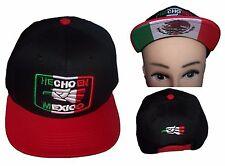 Hecho En Mexico  Baseball Caps Hats Flat Brim Snap Back  Embroidered ( ECapMx89)