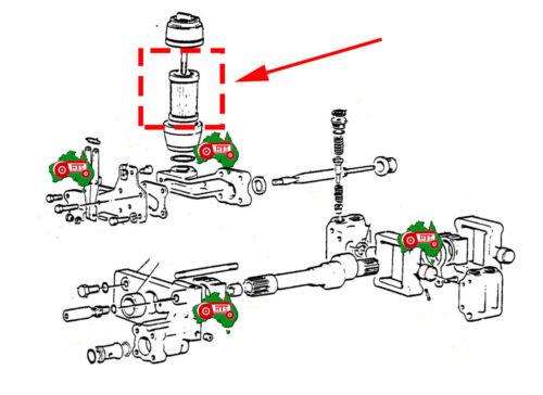 HTS0053 Tractor Hydraulic Pump Filter Strainer Massey Ferguson MK1 MK2