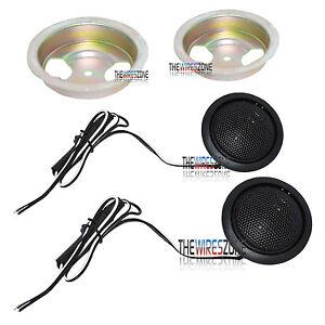 """TX110 1-3/4"""" 360 Watt Dome Tweeter Speaker Car Stereo Kit (pair)"""