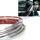 SI Chrome Trim Molding Strip Grill Interior Exterior Car Styling 5Mx4MM Silver