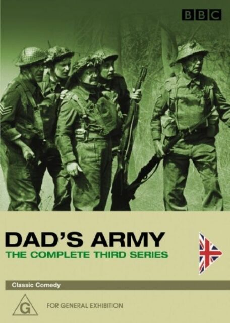 Dad's Army : Series 3 (DVD, 2005, 2-Disc Set) R4 as NEW