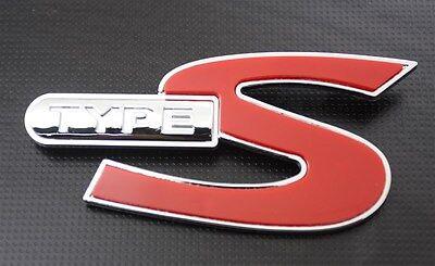 Fit For Honda Civic Type S Front Grille Chrome Badge Car Emblem Logo TypeS