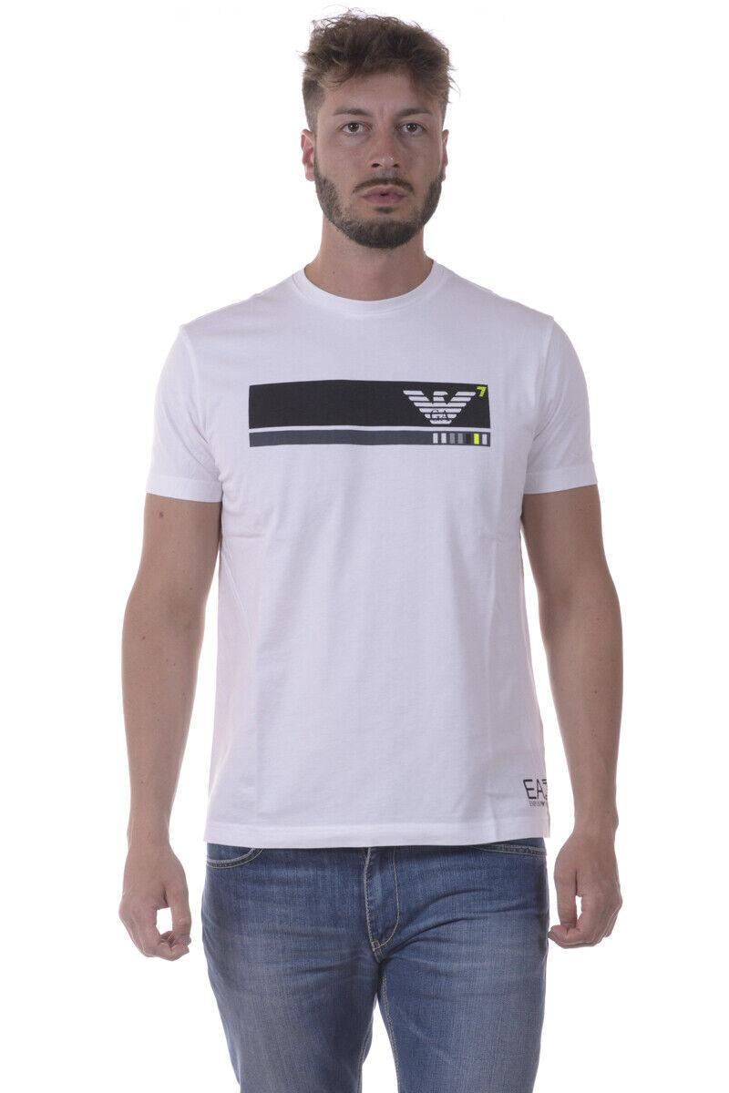Emporio Armani EA7 T hemd schweißhemd Man Weiß 3YPTE2PJ30Z 1100 Sz S MAKE OFFER