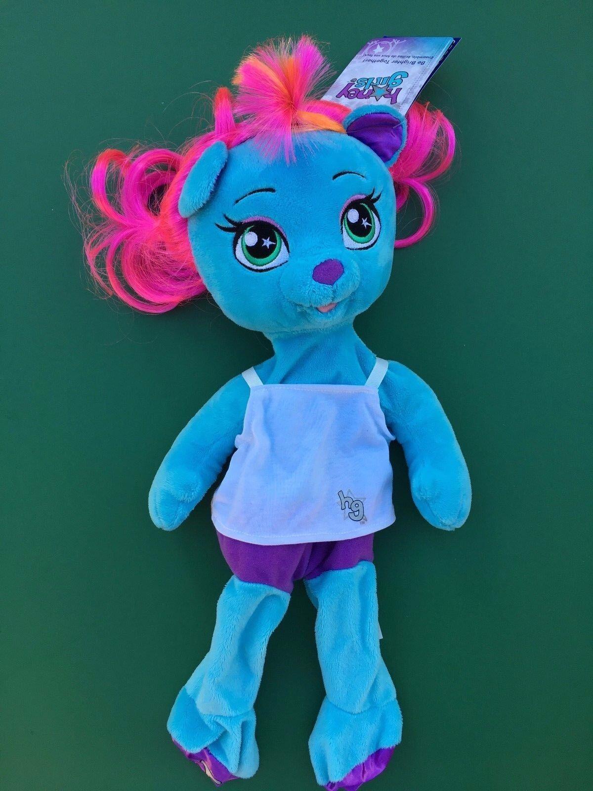 Build a Bear Teddy Bear Honey Girls Viv Plush Toy - Unstuffed - NWT