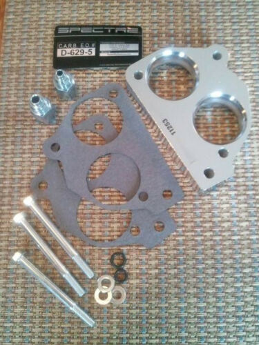 Throttle Body Spacer 11253 Fuel Injection  Power Plate 1987-1990 7.4L GM Chevy C