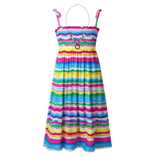Baby Girls Beach Dress Long Dress Casual Sundress Bohemian Style Summer Clothes