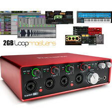 USB Audio Interface with Pro Tools - Focusrite Scarlett 18i8 (2nd Gen)    First