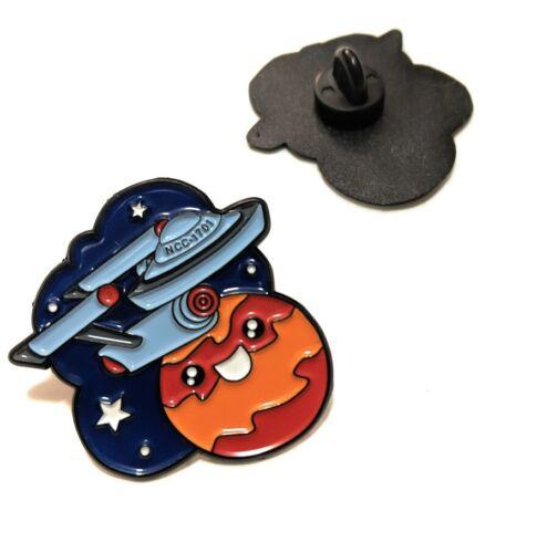 Star Trek ENTERPRISE Metal Pin brooch Enamel Collectible gift decor cosplay TOS