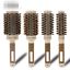 Professional Thermal Ceramic & Ionic Round Barrel Hair Brush w Boar Bristle AU