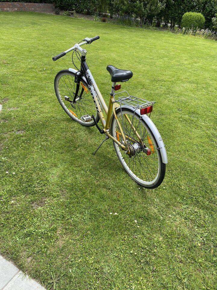 Pigecykel, citybike, Trek